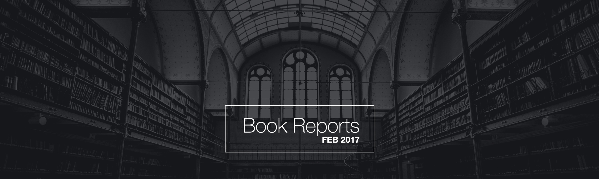 Book Reports – Touching our shelves